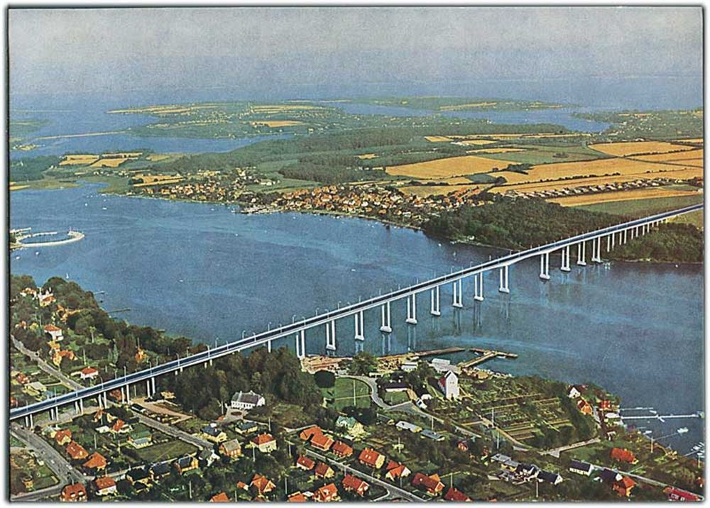Svendborgsundbroen set fra oven Turistforeningen for Svendborg og