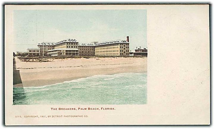 The breakers i Palm Beach, Florida. Detroit Photographic co. no. 5715.