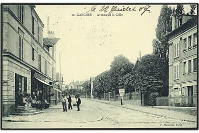 Avenue de la Celle i Garches. P. Masmuse no. 20.