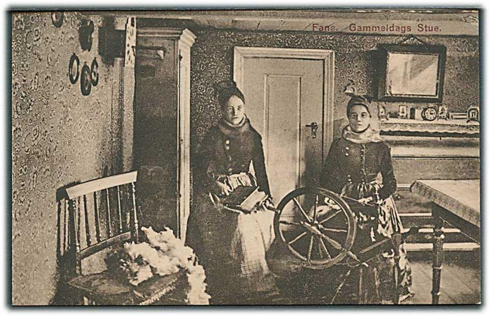 danske kvinder Fanø