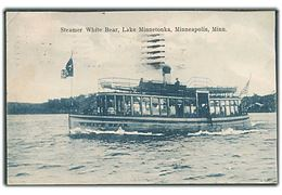 Dampskibet White Bear, Lake Minnetonka, Minneapolis, Minn. A. C. Bosselman & Co. no. 5149.