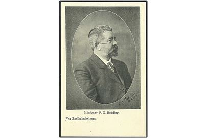 Missionær P.O. Bodding. Th. Buchhave u/no.