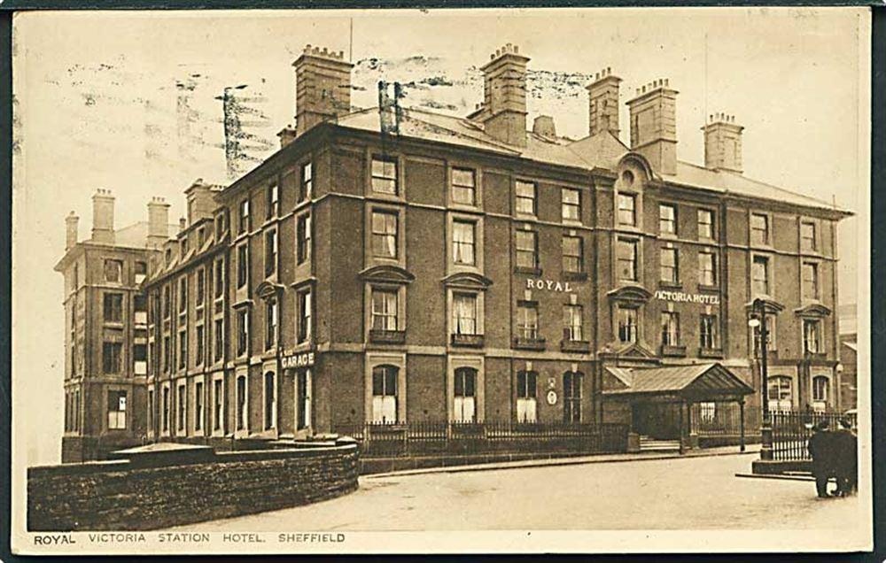 Royal Victoria Hotel Sheffield