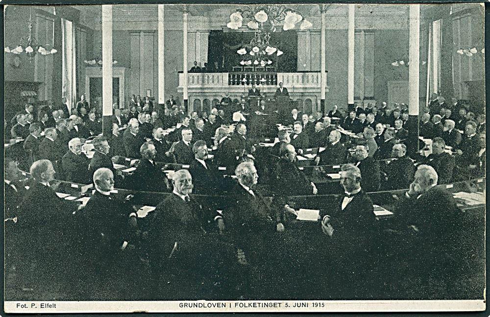 folketinget grundloven