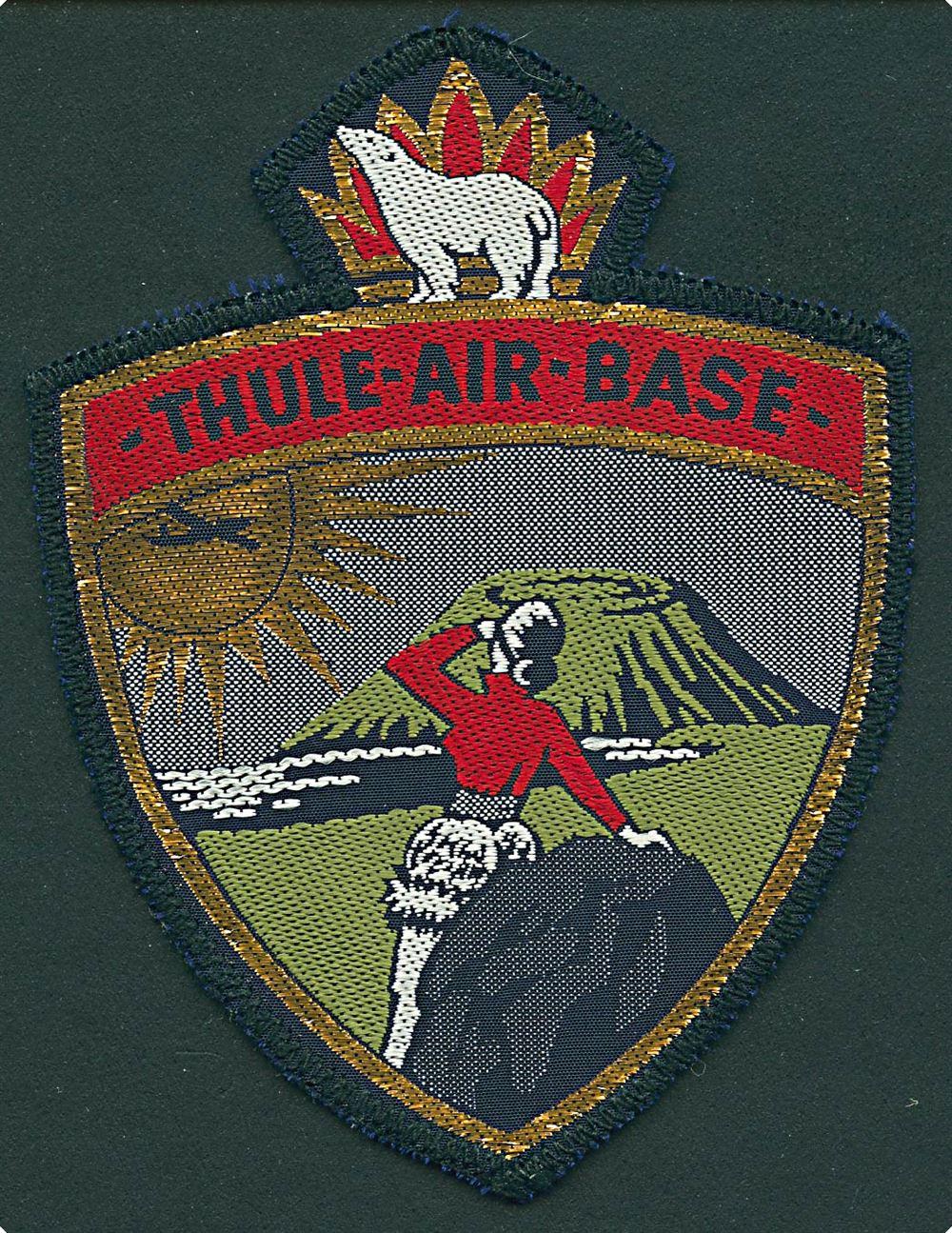 Thule Air Base Stofmaerke Ubrugt Gronland Diverse