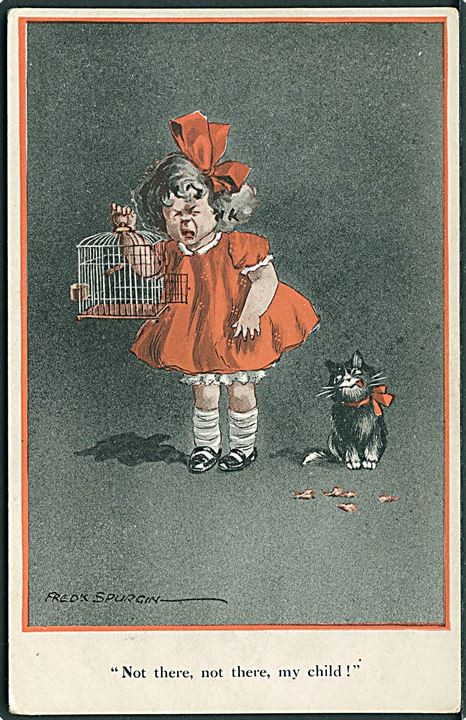 Fred Spurgin: Not there, not there, my child!. E. J. Hey & Co. no. 315.