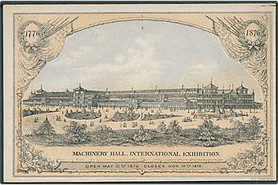 Udstilling, Centennial Exhibition Philadelphia 1876, Machinery Hall. H.J. Toudy u/no. Kvalitet 8