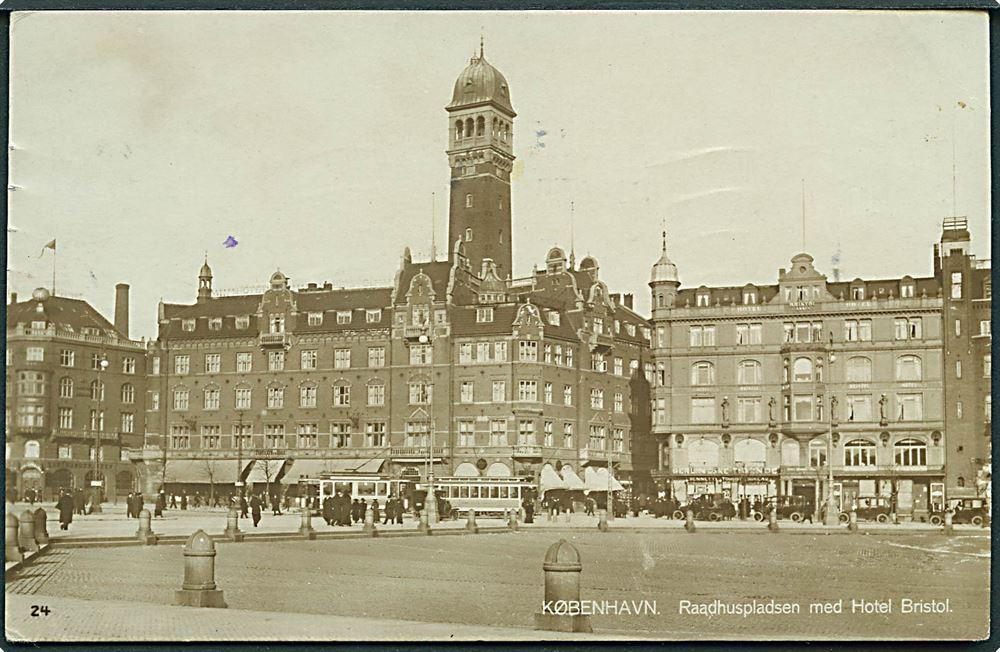 hoteller ved rådhuspladsen københavn