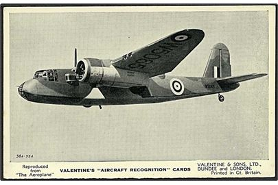 The Blackburn Botha I. Valentine no. 7.