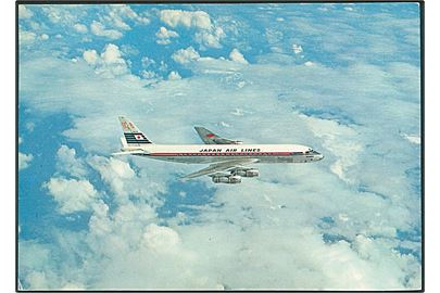 DC - 8 Jet Courier. Japan air lines. U/no.